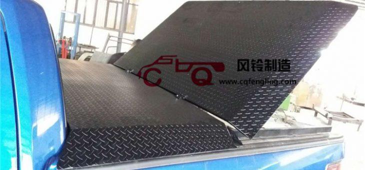 福特猛禽F150皮卡车改装后箱平盖/猛禽平盖/猛禽花纹钢平盖后箱盖